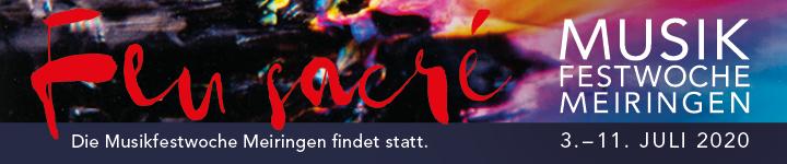 Musikfestwochen Meiringen 2020
